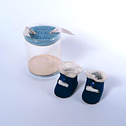 Nancy Ann Debbie Center Snap Shoes with Cylinder