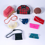Vintage Barbie Hats and Purses by Mattel