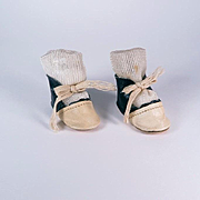 Vintage Two-toned Leatherette Shoes