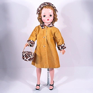 Vintage Three Piece Coat and Hat Box Set for Cissy, Miss Revlon & Others