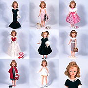 Exquisite OOAK Vintage Ideal Tammy, Wardrobe and Accessories