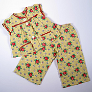 Vintage Play Suit For Medium Sized Composition Doll