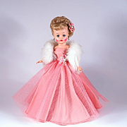 Vintage Gown and Accessories for 10 1/2 inch Fashion Dolls of the 1950's