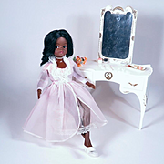 Sindy Gayle with Dressing Table by Louis Marx Company