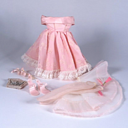 1950's Factory Gown and Accessories for Little Miss Revlon & Others