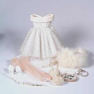 1950's Factory Party Dress and Accessories for Little Miss Revlon & Others