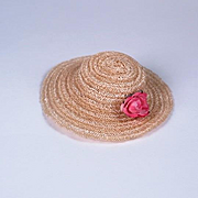 Vintage Hat for 8 - 10 inch Dolls of the 1950's