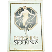 Art Deco Berkshire Stockings box