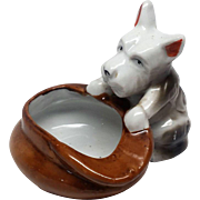 Terrier figurine 1946-1955 Occupied Japan