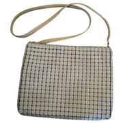Whiting and Davis Enamel Mesh purse