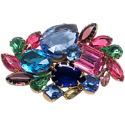 Stunning Juliana Fruit Salad Brooch