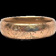 Austin & Stone 1907 Edwardian Bangle Clamper bracelet