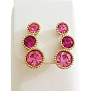 "Sarah Coventry ""Saucy"" clip earrings 1965"