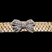Outstanding Rhinestone Bow bracelet
