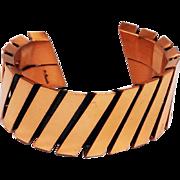 Renoir Copper Modernist Cuff Bracelet