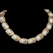 Stunning Kramer gold-tone Choker Necklace