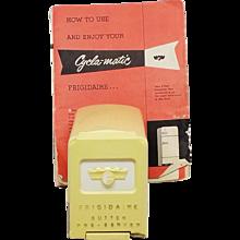 Vintage Frigidaire Butter Pre-Server, Butter Storage With cutter/server  / original booklet - Red Tag Sale Item