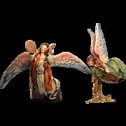 Paper Mache Angels