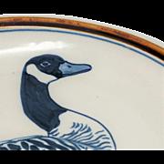 WARD Handmade Pottery Goose  Bowl  14
