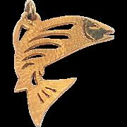 Super Salmon Trout Fish Pendant