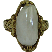 Antique 14K Natural River Pearl Ring