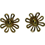 18K Paloma Picasso Daisy Earrings Tiffany & Co.