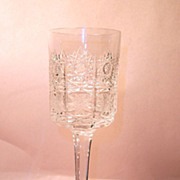 Czech or Bohemian Queens Lace 500PK Goblet