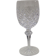"Waterford Powerscourt 7 5/8"" Water Goblet"