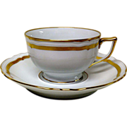 Raynaud Ceralene Marie Antoinette Cup &  Saucer Set