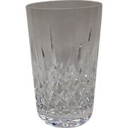 "Waterford Lismore 4 1/2"" Flat Tumbler"