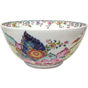 "Mottahedeh ""Tobacco Leaf"" Large Serving Bowl"