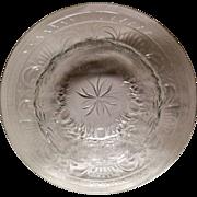Stunning Set (9) Vintage Cut Crystal Rim Soup Bowls