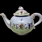 Stunning Herend Csung Vert Large Teapot