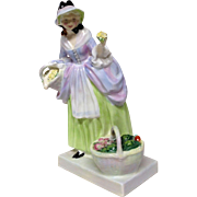 "Lovely Royal Doulton ""Spring Flowers"" HN1807 Figurine"