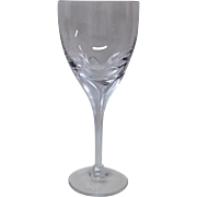 Rosenthal Studio Linie Iris Frosted Stem Crystal Water Goblet