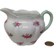 Dainty Shelley Rosebud 13426 Mini Creamer
