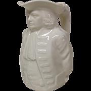 Vintage Lenox William Penn Indian Treaty Toby