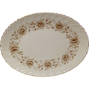 Lenox Coquette G-512 China Oval Platter