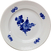 Royal Copenhage Blue Flowers-Braided Pattern Salad Plate 8095