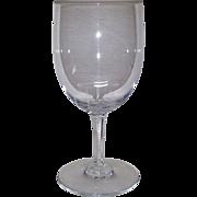 Baccarat Francois Villon Tall Water Goblet