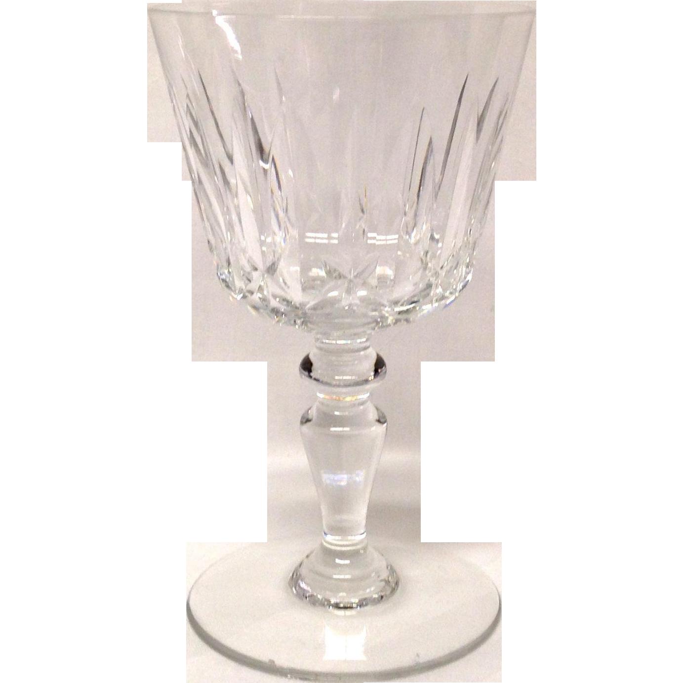 Baccarat Isle de France Water Goblet