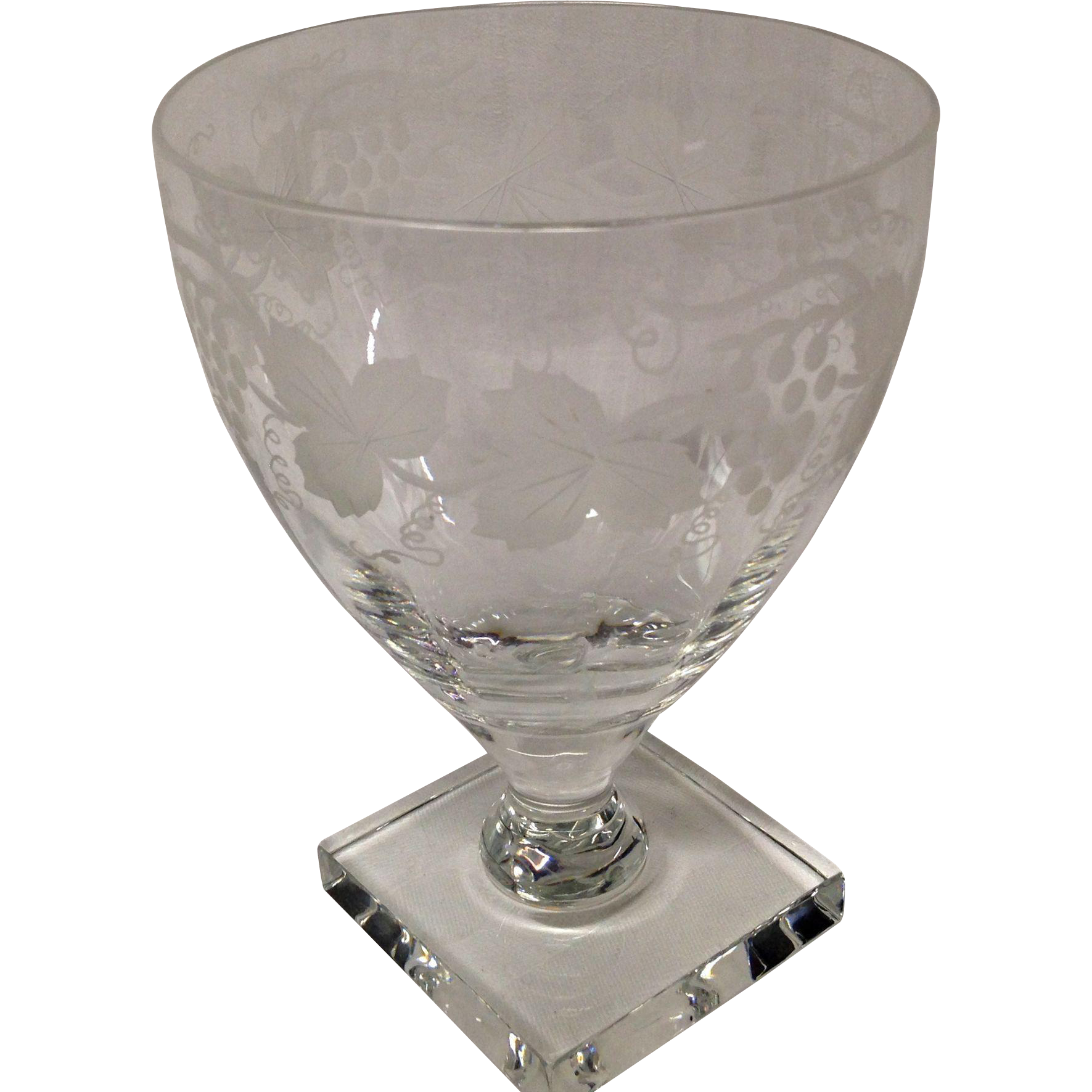 Stunnning william yeoward leonora water goblet grandview fine stunnning william yeoward leonora water goblet grandview fine tableware ruby lane reviewsmspy