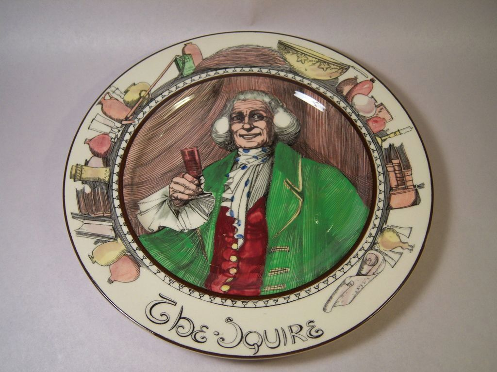 Vintage Royal Doulton-The Squire-Professional Series 3rd Firing