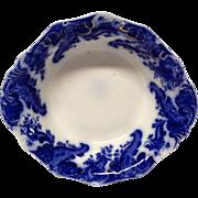 Grindley Argyle Flow Blue Round Vegetable Bowl