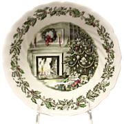 Johnson Brothers Merry Christmas Round Vegetable Serving Bowl