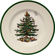 Spode Christmas Tree Dinner Plate, England