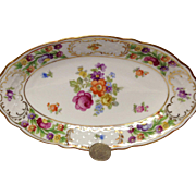 Schumann Empress Dresden Flowers Relish Tray