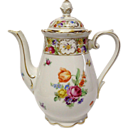 Schumann Empress Dresden Flowers Coffee Pot