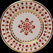 Haviland Parlon Matignon Rust Dessert Plate