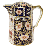 Royal Crown Derby Traditional Imari 2451 Hot Water Jug